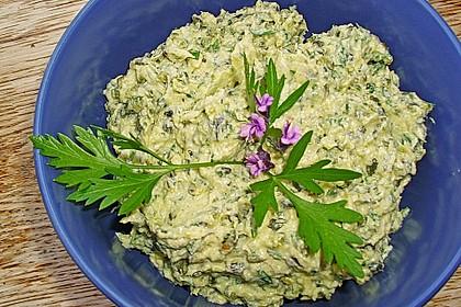 Crostini mit Zucchini - Püree 7