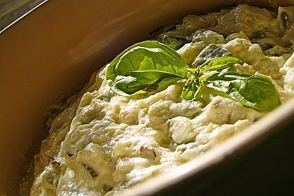 Crostini mit Zucchini - Püree 9