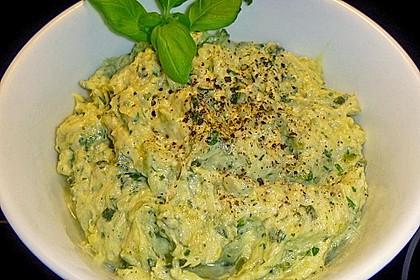 Crostini mit Zucchini - Püree 10