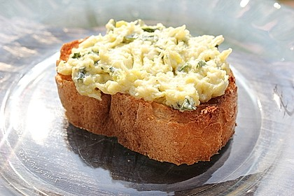 Crostini mit Zucchini - Püree 1