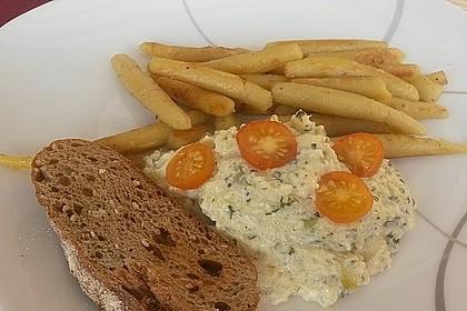 Crostini mit Zucchini - Püree 3