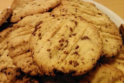 Schokostückchen - Kekse 7