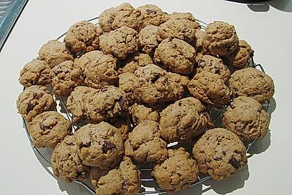 Schokostückchen - Kekse 8