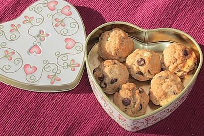 Schokostückchen - Kekse 4