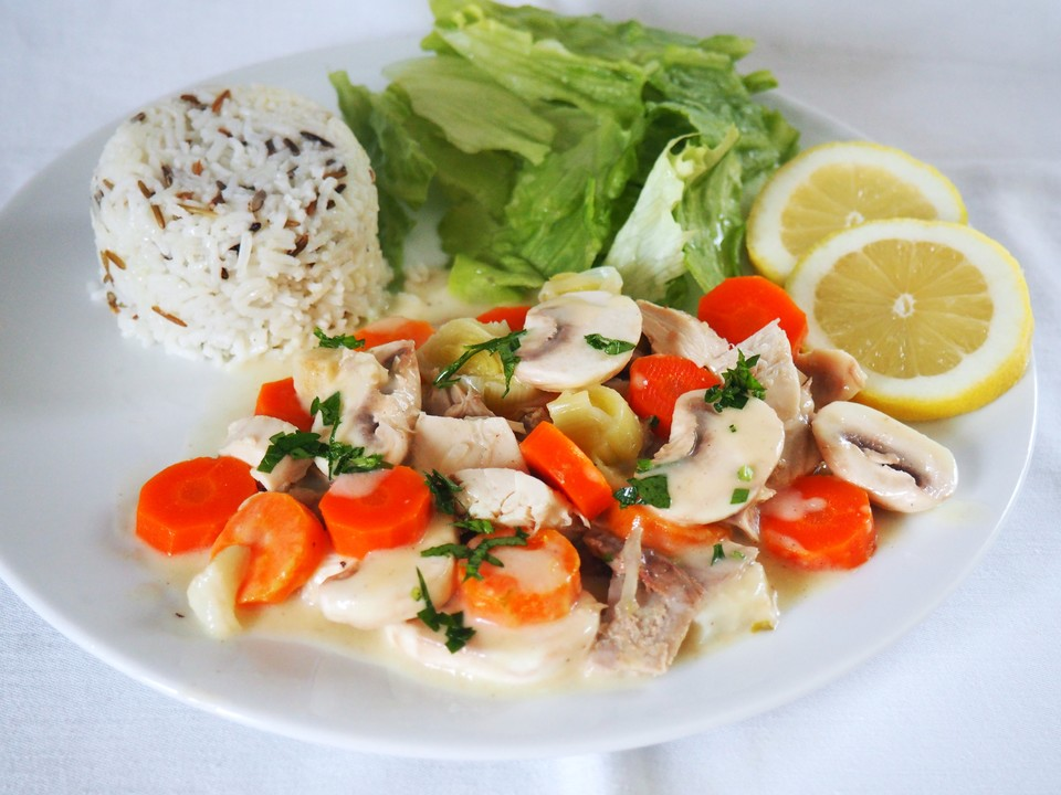 Chefkoch.de Rezept: Hühnerfrikassee