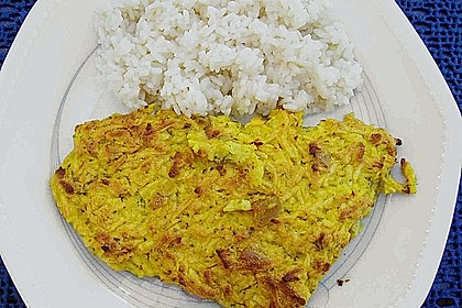 Überkrusteter Curryfisch 2