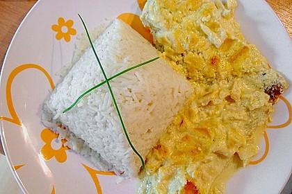 Überkrusteter Curryfisch 1