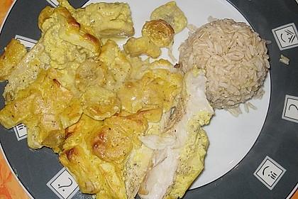 Überkrusteter Curryfisch 9