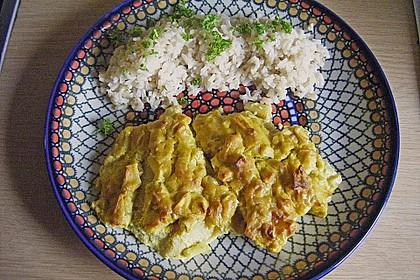 Überkrusteter Curryfisch 4