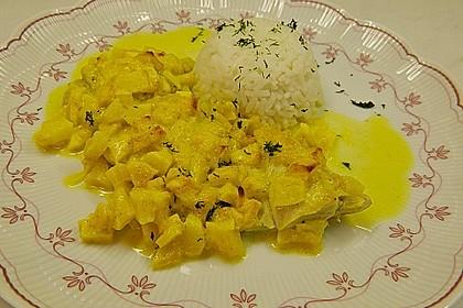 Überkrusteter Curryfisch 8