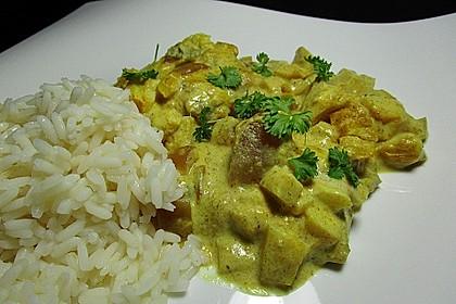 Überkrusteter Curryfisch 3