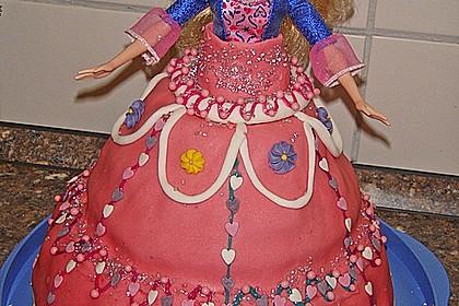 Barbie-Torte (Bild)
