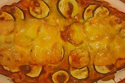 Lasagne mit Zucchini und Hollandaise 1