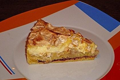 Baiser - Bananen - Torte