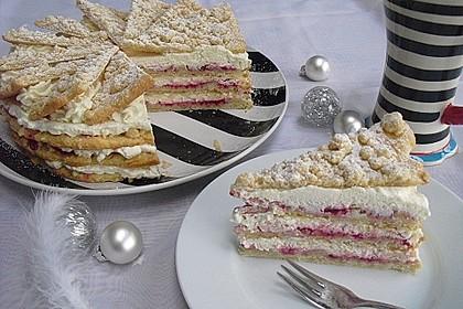 Friesische Weihnachtstorte