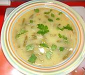 Portugiesische grüne Bohnensuppe (Bild)