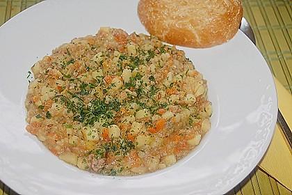 Kartoffel - Möhren - Eintopf 4