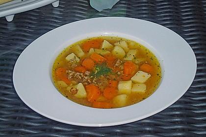 Kartoffel - Möhren - Eintopf 2