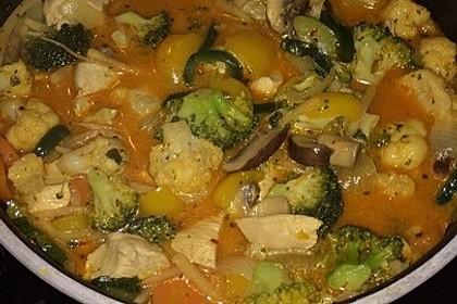 Thai-Red-Curry für mehrere Variationen 59