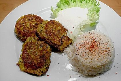 Griechische Zucchini - Küchlein 3