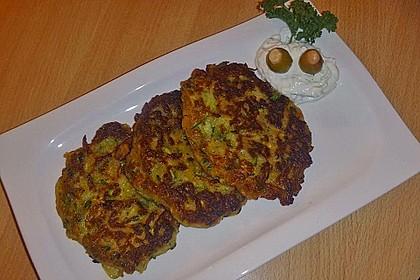 Griechische Zucchini - Küchlein 11