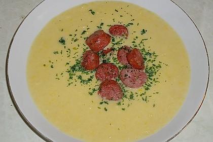 Maisfeld - Suppe