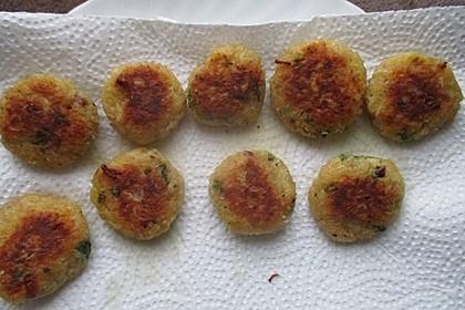 Möhren - Reis - Frikadellen 1