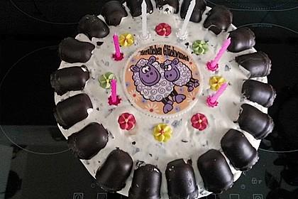 Zwergenküsse - Torte 2
