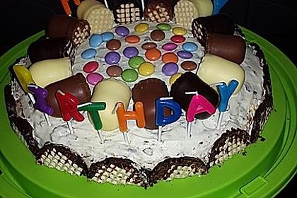 Zwergenküsse - Torte