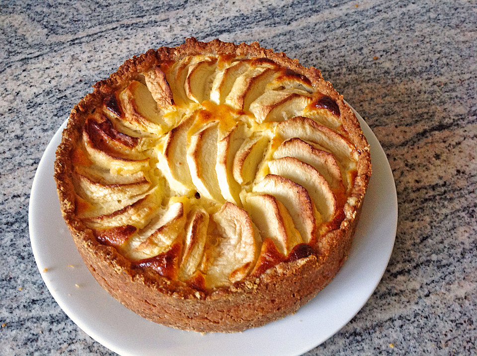 Apfel Quark Kuchen Laxhmis Art Von Laxhmi Chefkoch De