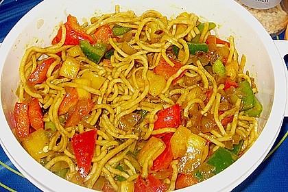Asiatischer Nudelsalat 7