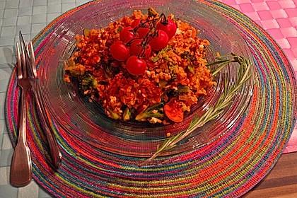 Gemüse-Bulgur-Auflauf 2