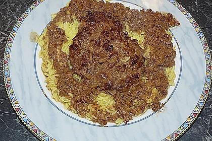 Huhn in Granatapfel - Walnuss - Sauce 2