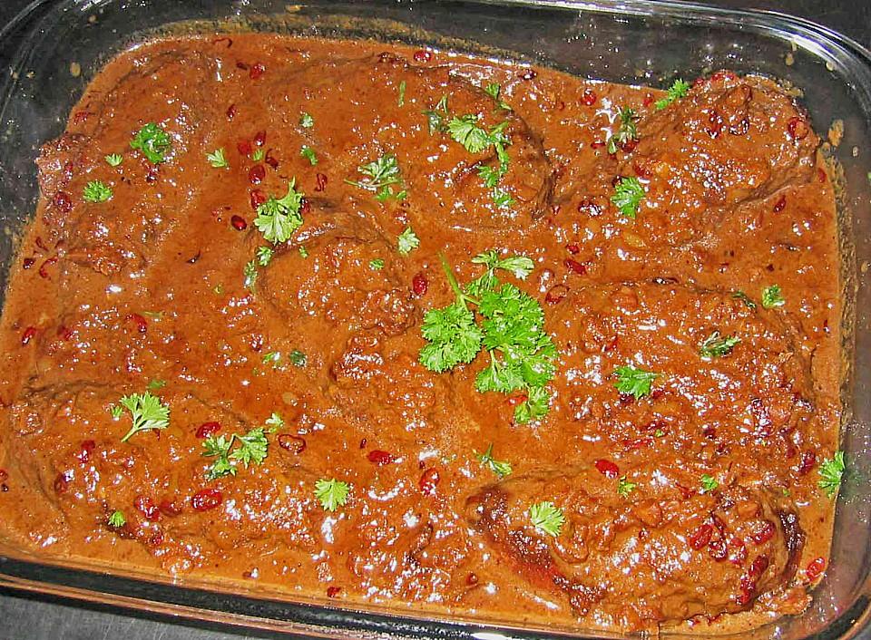 Huhn In Granatapfel Walnuss Sauce Von Hias2000 Chefkoch