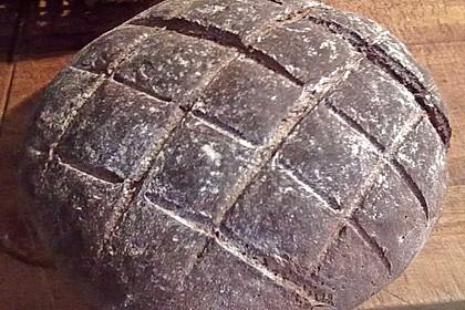 Roggenmischbrot mit Buttermilch TA 200 23