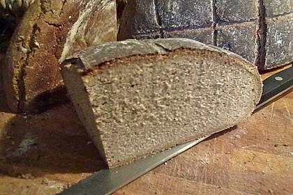 Roggenmischbrot mit Buttermilch TA 200 24