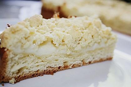 Streuselkuchen mit Pudding 2