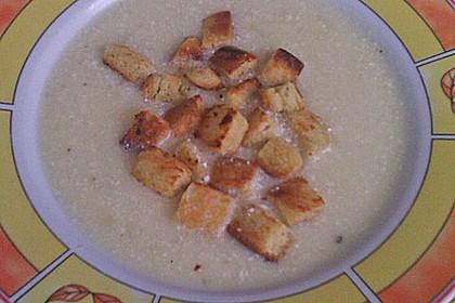 Zwiebel - Knoblauch - Suppe (Bild)