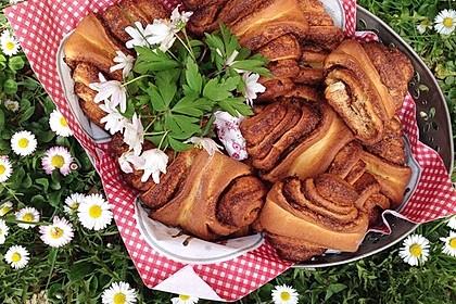 Zuckersüße Franzbrötchen (Bild)