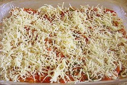 Fischstäbchen - Auflauf mit Tomatensauce 1