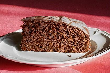 Schoko - Erdnuss - Kuchen