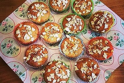 Apfel-Nussmuffins (Bild)