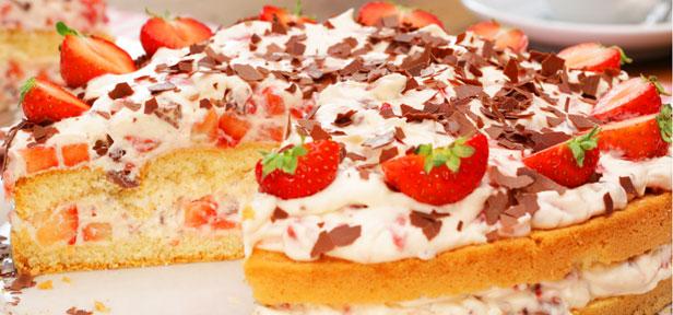 Yogurette Torte Schokolade Kusst Erdbeere Chefkoch De Video