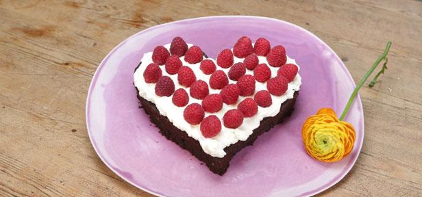 Brownieherz Als Geschenk Zum Geburtstag Muttertag Co Chefkoch