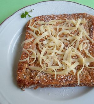Sweet Cheese Toast