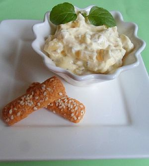 Curry - Ananas - Dip