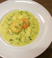 Curry-Fischsuppe