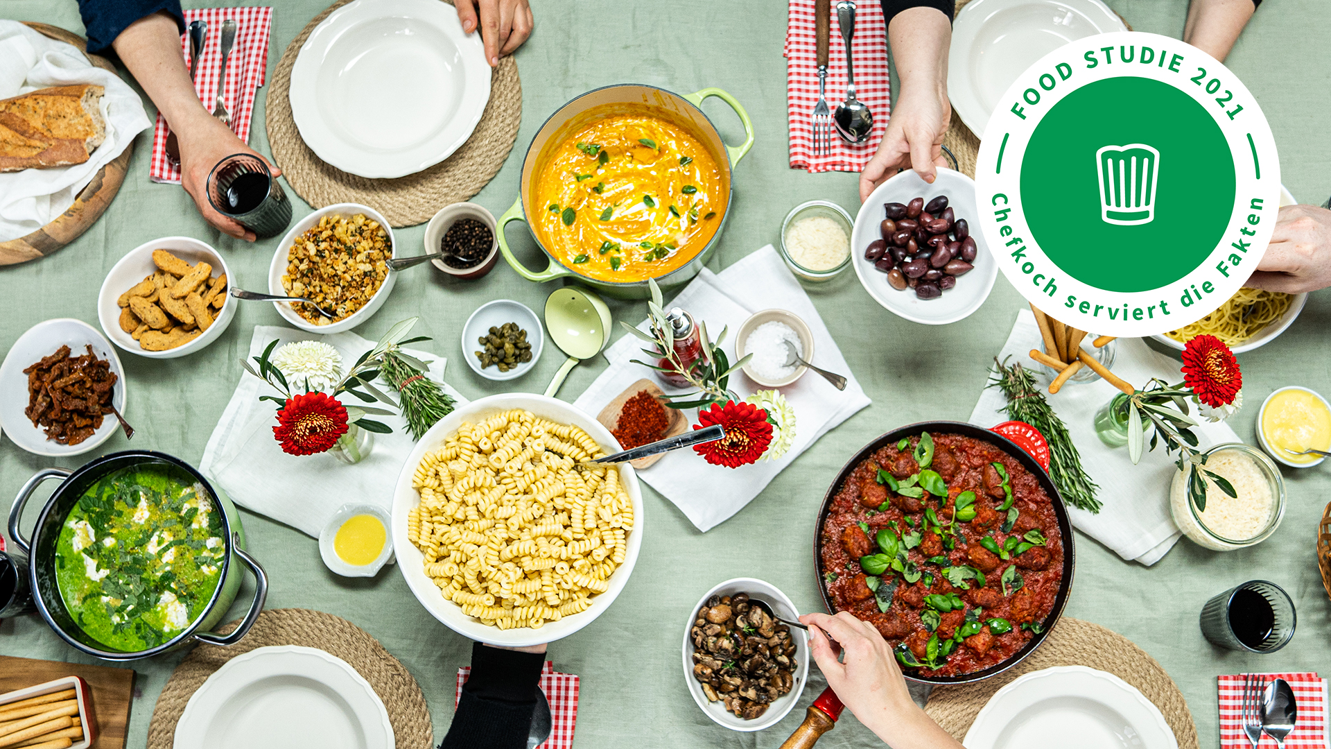Food Studie 2021 - Chefkoch serviert die Fakten