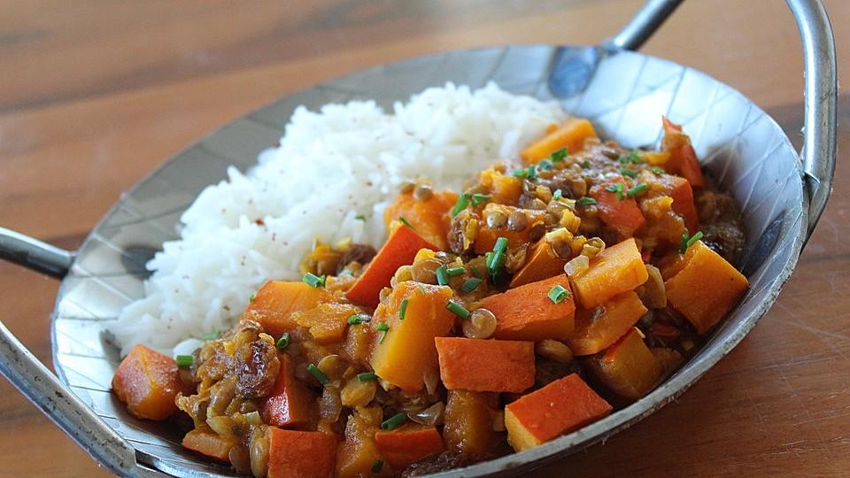 Kürbis-Linsen-Curry von liwanze   Chefkoch
