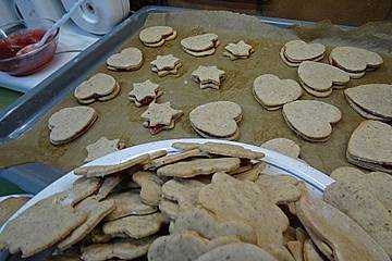 Honig - Vanille - Kekse